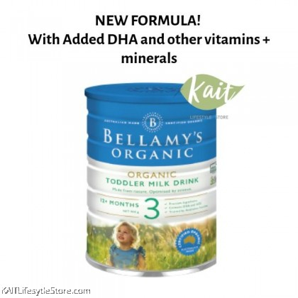 BELLAMY'S ORGANIC: Step 3 Toddler Milk Drink (900gm)